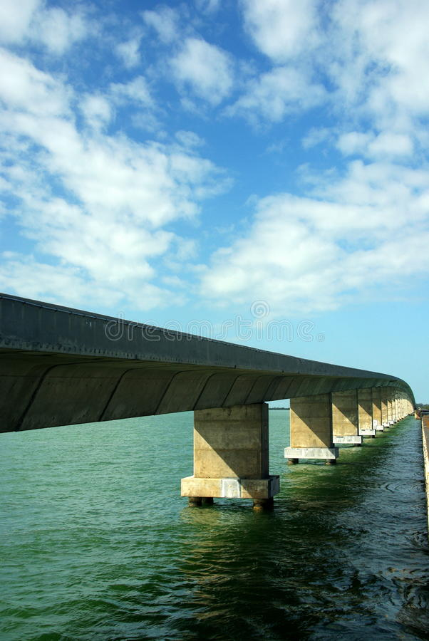 Seven Mile Bridge. On the way to Key West, Seven Mile Bridge stock photos
