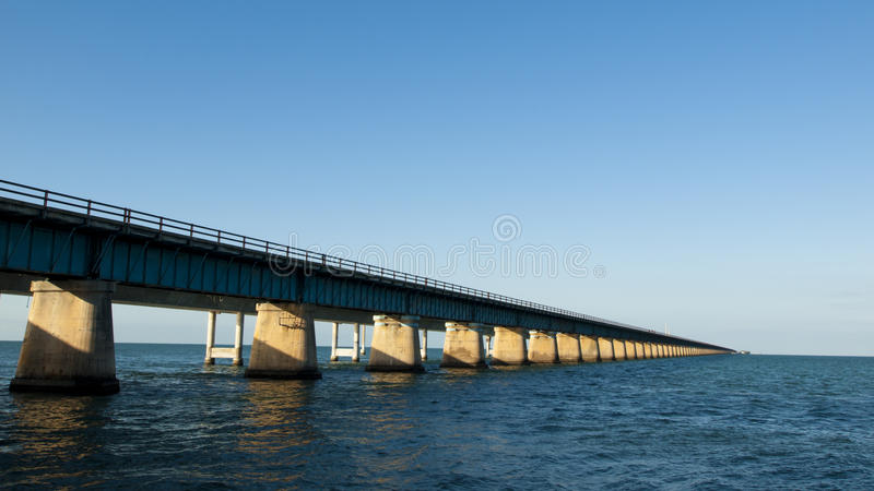 Seven Mile Bridge. The Seven Mile Bridge is a famous bridge in the Florida Keys stock image
