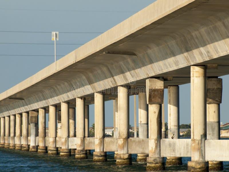 Seven Mile Bridge. The Seven Mile Bridge is a famous bridge in the Florida Keys stock photography