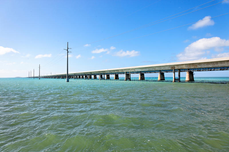 Seven Mile Bridge, Florida Keys. Florida, USA stock photography