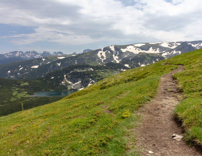 Seven Rila Lakes Trail near Sofia, Bulgaria stock image