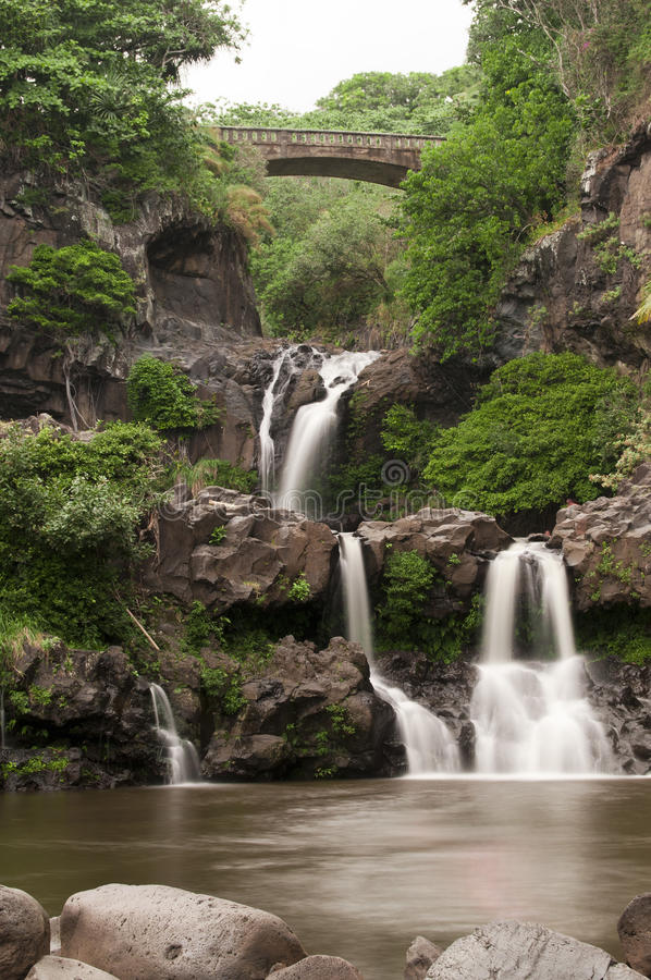Free Seven Sacred Pools Stock Images - 18644304