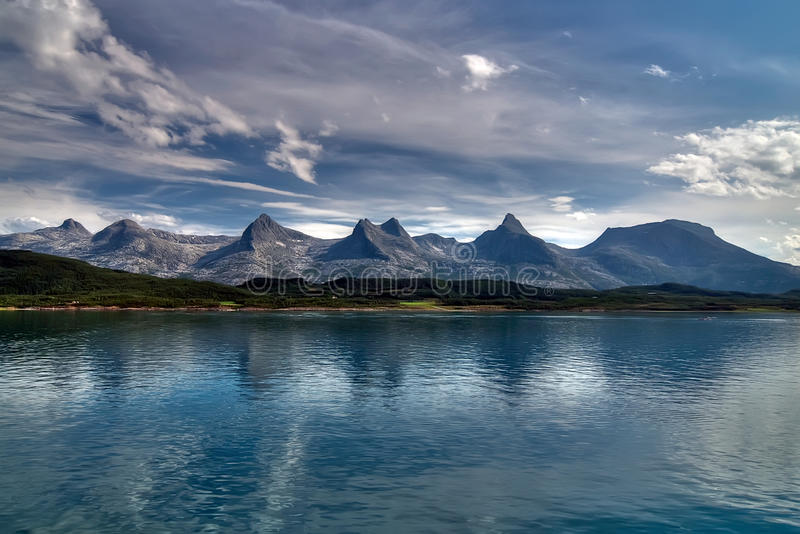 The seven sisters stock photography