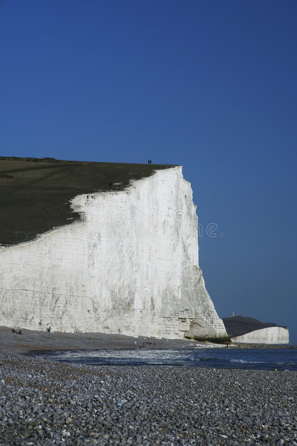 Download Seven Sisters Chalk Cliffs Beach England Stock Photo - Image: 14072464
