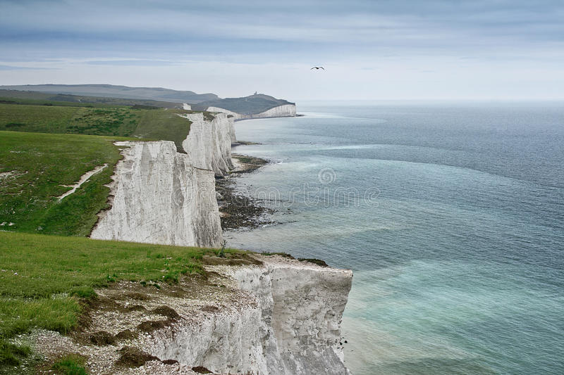 Download Seven sisters chalk cliffs stock photo. Image of english - 33456738