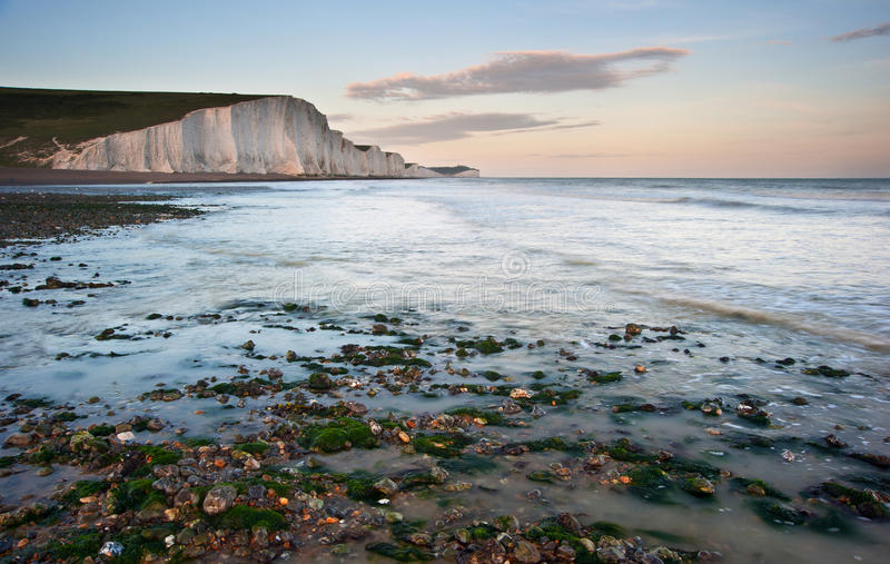 Download Seven Sisters Cliffs South Downs England Landscape Stock Photo - Image: 25837238