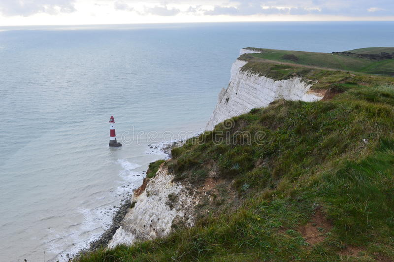 Seven Sisters cliffs royalty free stock photography