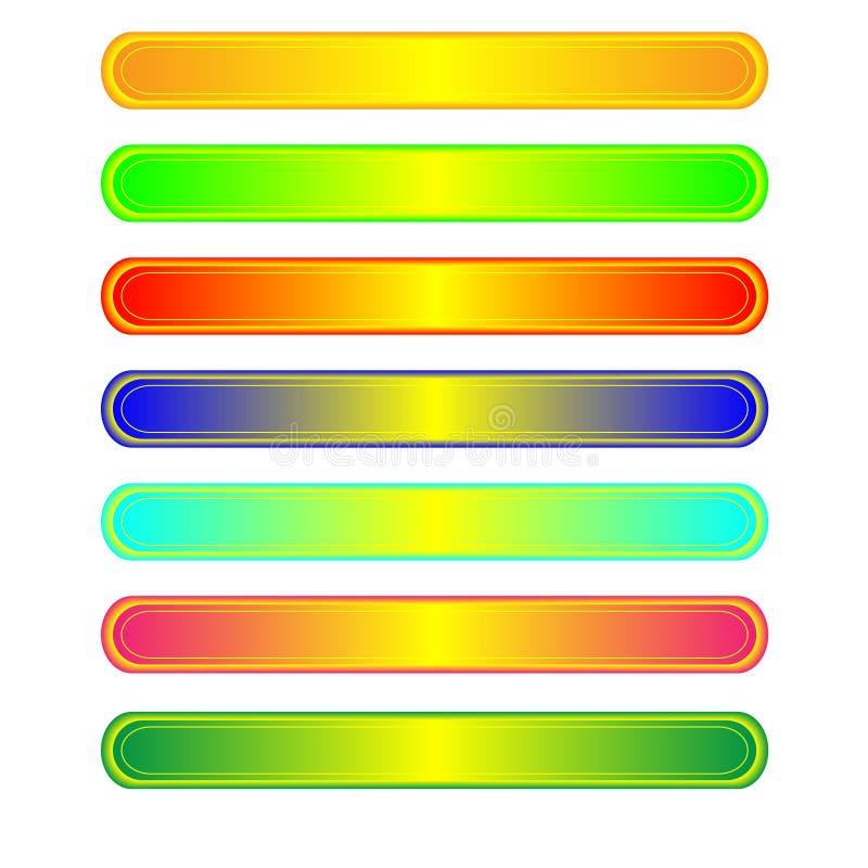 Download Seven web buttons stock vector. Illustration of liquid - 8638173