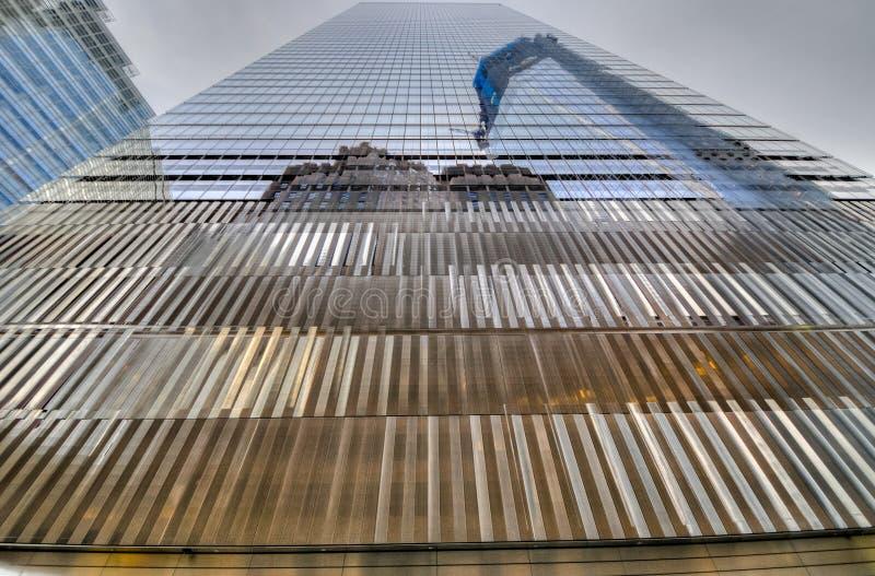 Seven World Trade Center. New York City - November 20, 2011: 7 World Trade Center exterior view royalty free stock photos