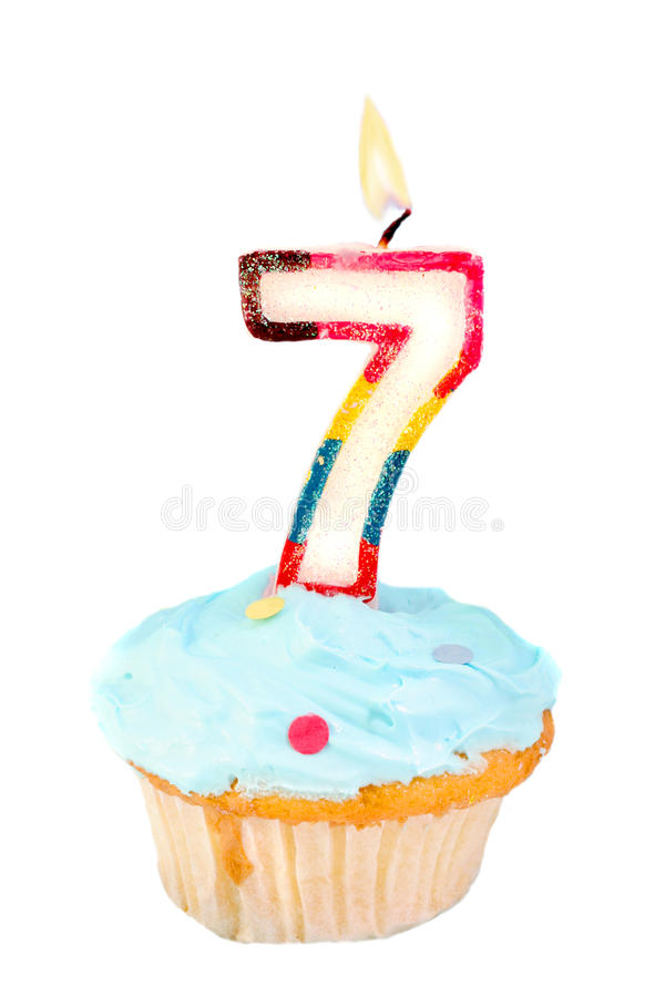 Seventh  Birthday Royalty Free Stock Images