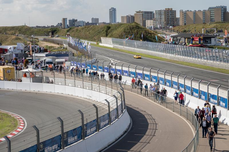 Historic Grand Prix Zandvoort 2018 stock images