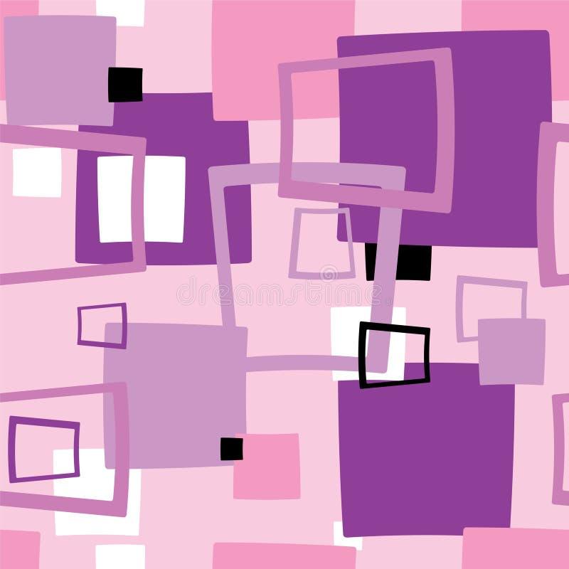 Seventies square stock illustration