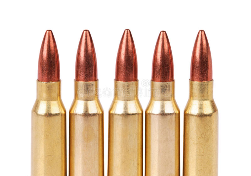 Download Several Ammo For The Automatic Weapons Stock Photo - Image: 21165814
