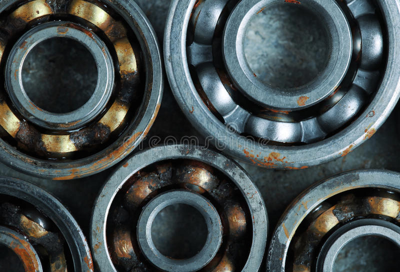 Several bearings for industrial design.  stock photography