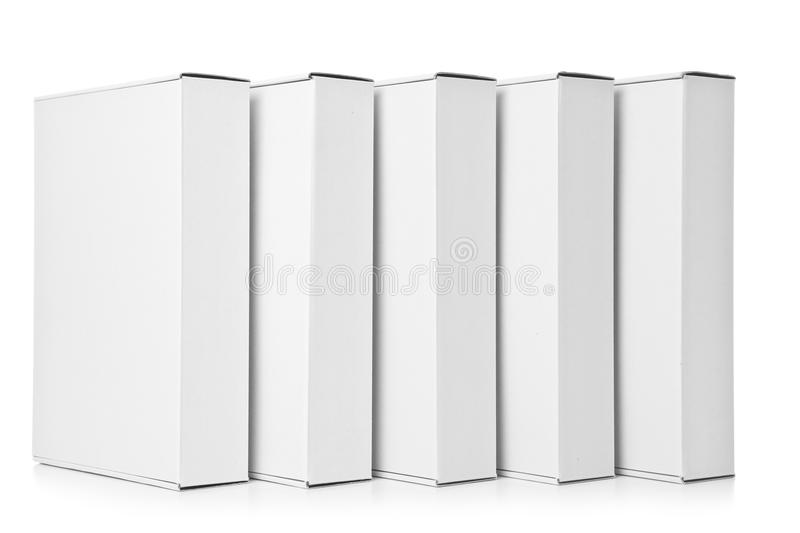 Download Several cardboard Box stock image. Image of merchandise - 26404405
