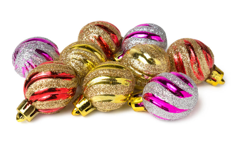 Download Several christmas balls stock image. Image of traditional - 30620225