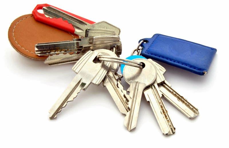 Several keys royalty free stock images
