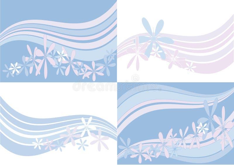 Download Several pastel backgrounds stock vector. Illustration of elegant - 19849697