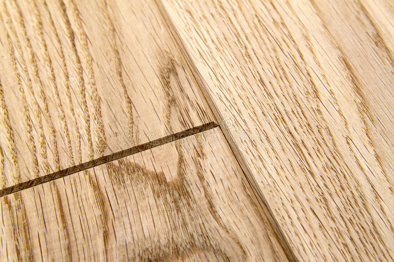 Several planks of beautiful laminate or parquet flooring with wooden texture as background royalty free stock photography