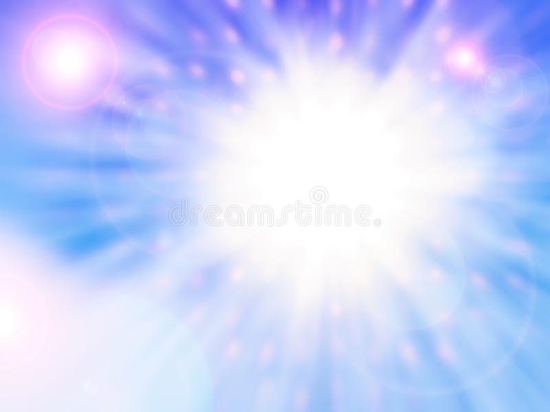 Several Suns stock photography