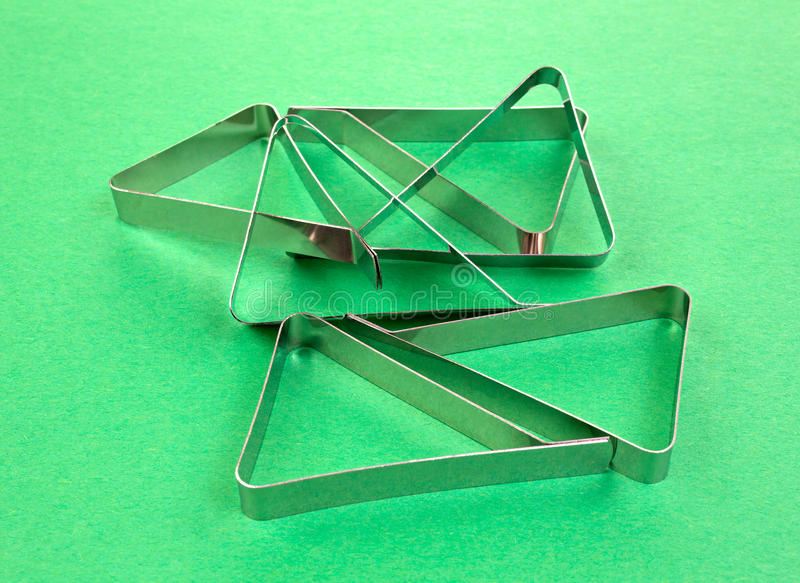 Download Several Tablecloth Clamps On Green Background Stock Image - Image: 32716639