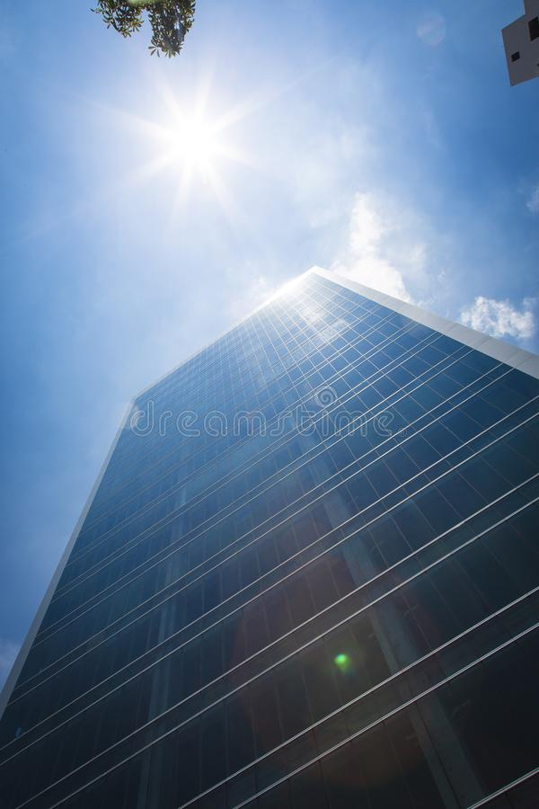 Several tall buildings. In Guadalajara, Jalisco, Mexico stock photography