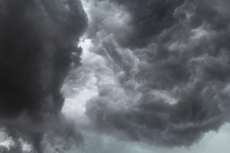 Severe Storm Clouds Royalty Free Stock Photos