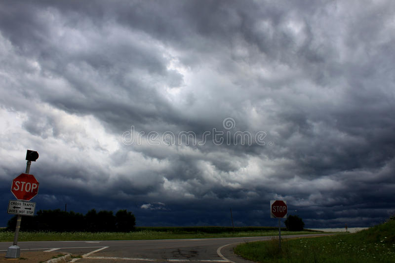 Download Severe Thunderstorm - Illinois Stock Photos - Image: 24123603