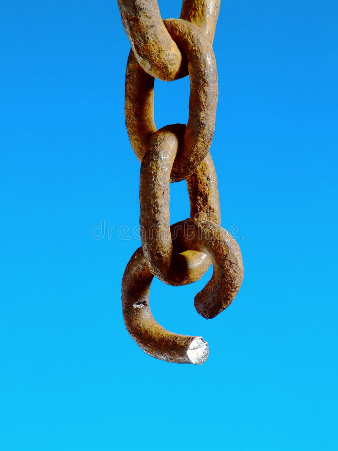Free Severed Chain Stock Photography - 5401252