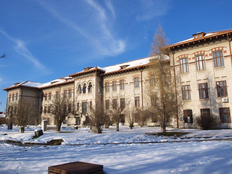 severin Румынии музея утюга строба стоковое изображение rf