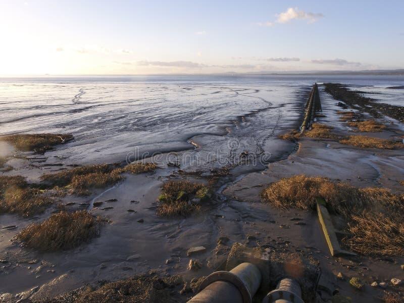 Severn beach stock image