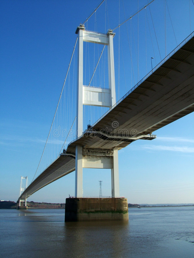 Severn Brücke #2 stockbild