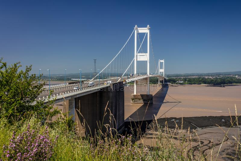 Severn Bridge R-U photographie stock