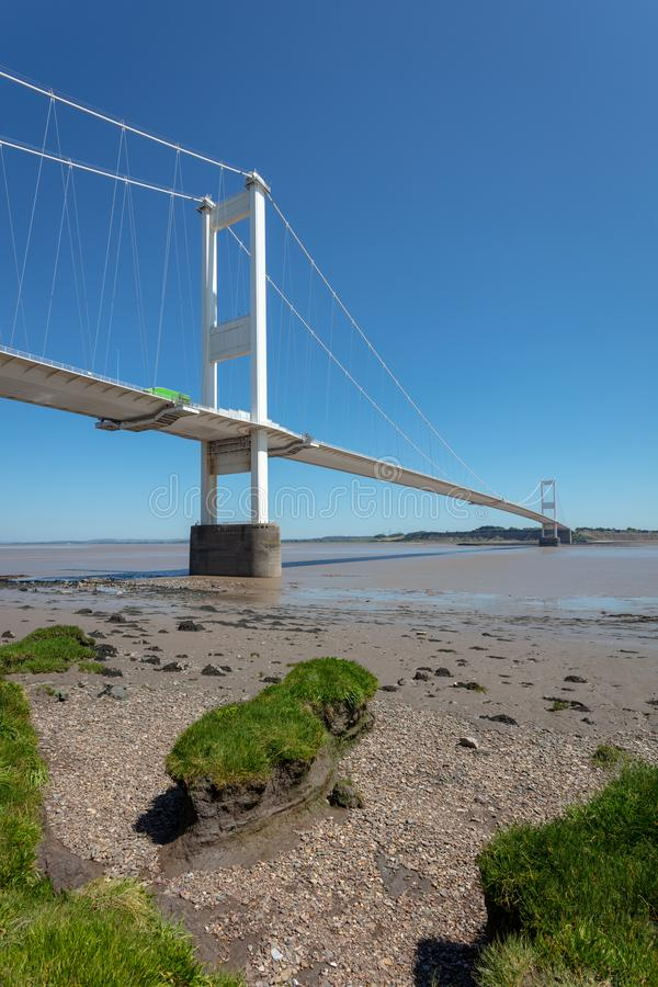 Severn Bridge R-U photo libre de droits