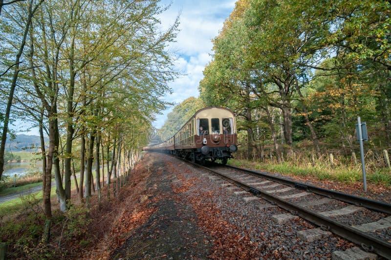 Severn Valley Railway royaltyfria bilder