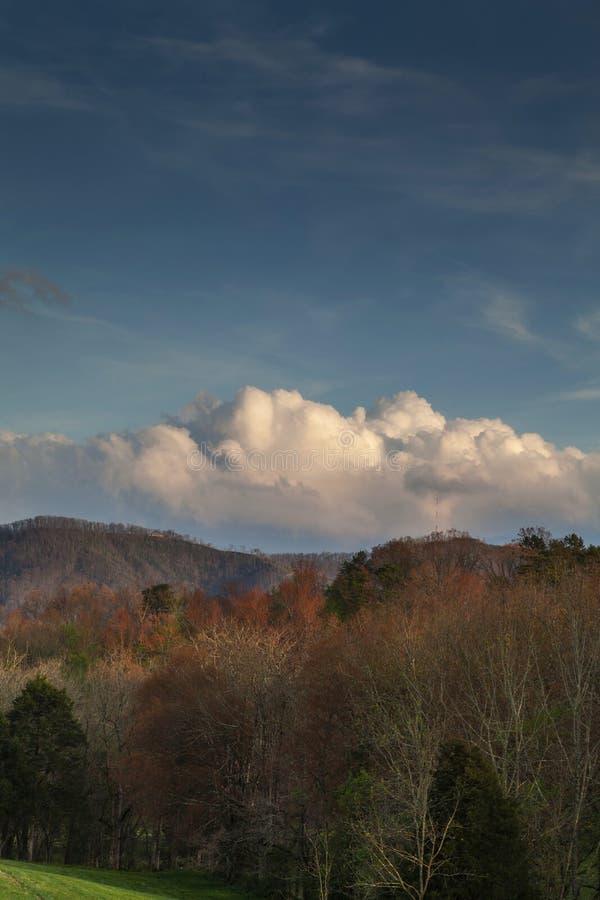Sevier County Landscape, ressort image libre de droits