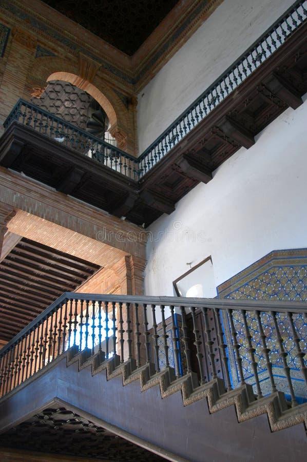 Sevilha - d'Espana da plaza imagem de stock