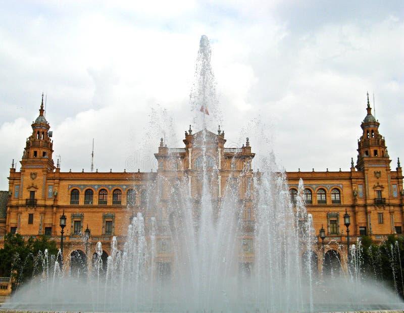 Sevilha, Plaza de Espana 11 foto de stock royalty free
