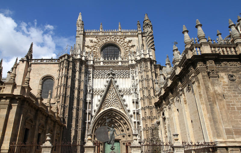 Sevilla stock afbeelding