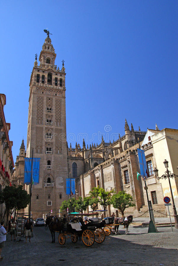 Download Sevilla editorial image. Image of sevilla, yellow, tower - 23631295