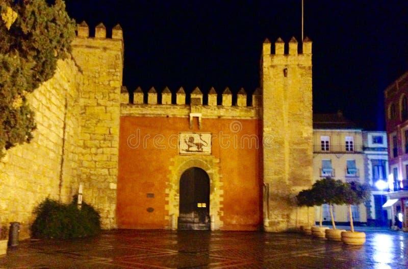 Sevilla Alhambra fotografia de stock royalty free