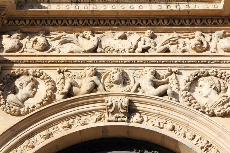 Sevilla-Architektur stockfotografie