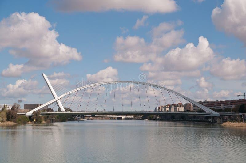 Sevilla-Brücken stockbilder