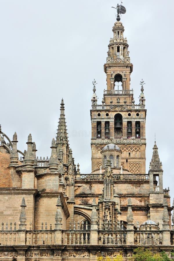 Sevilla Cathedral, Spagna fotografia stock