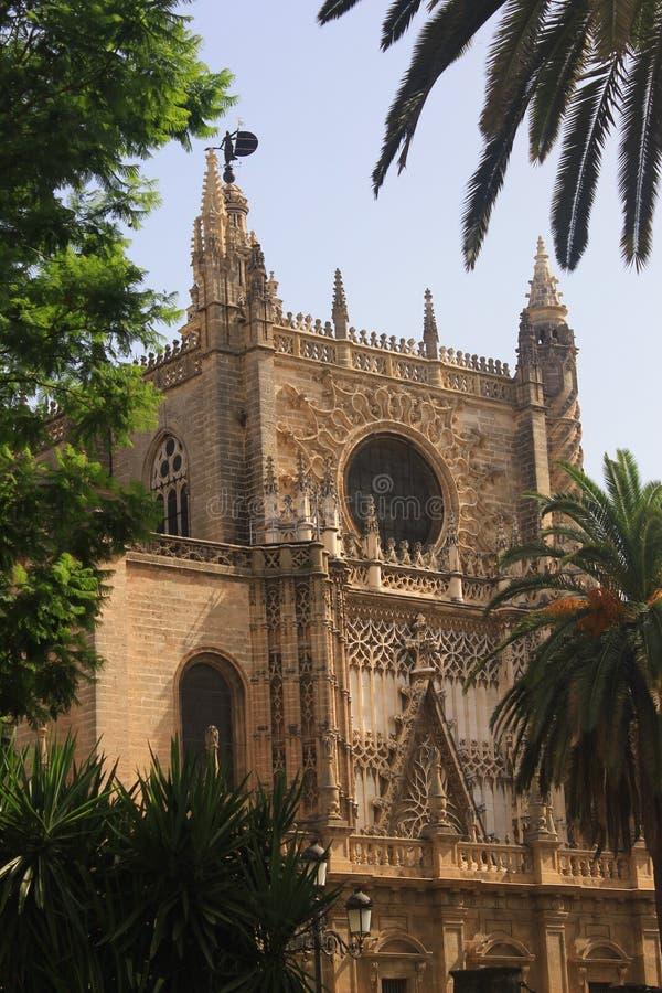 Sevilla, de kathedraal royalty-vrije stock afbeeldingen