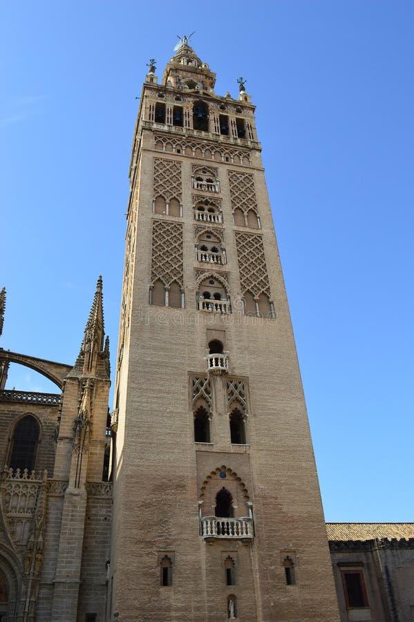 Sevilla - La Giralda royalty-vrije stock fotografie