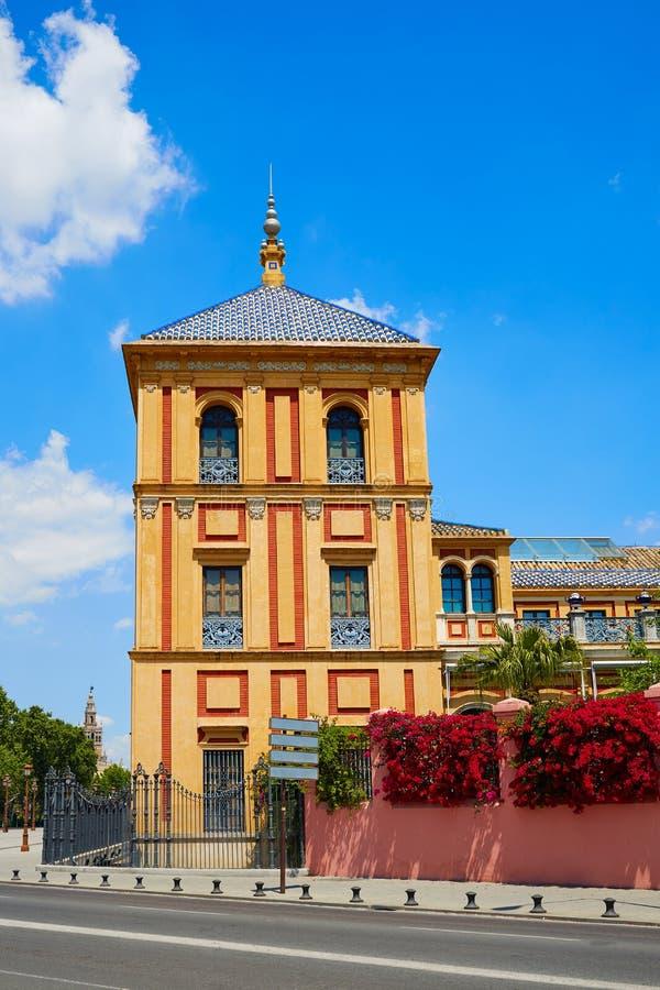 Sevilla Palacio de San Telmo Andalusia von Spanien stockfoto