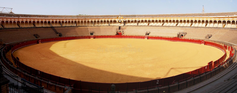 Sevilla - Plaza de Toros royalty free stock images