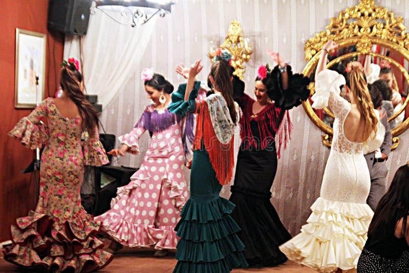 Sevilla potomstw tancerze zdjęcie stock
