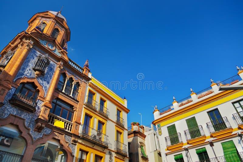 Sevilla Spain-architectuur royalty-vrije stock foto